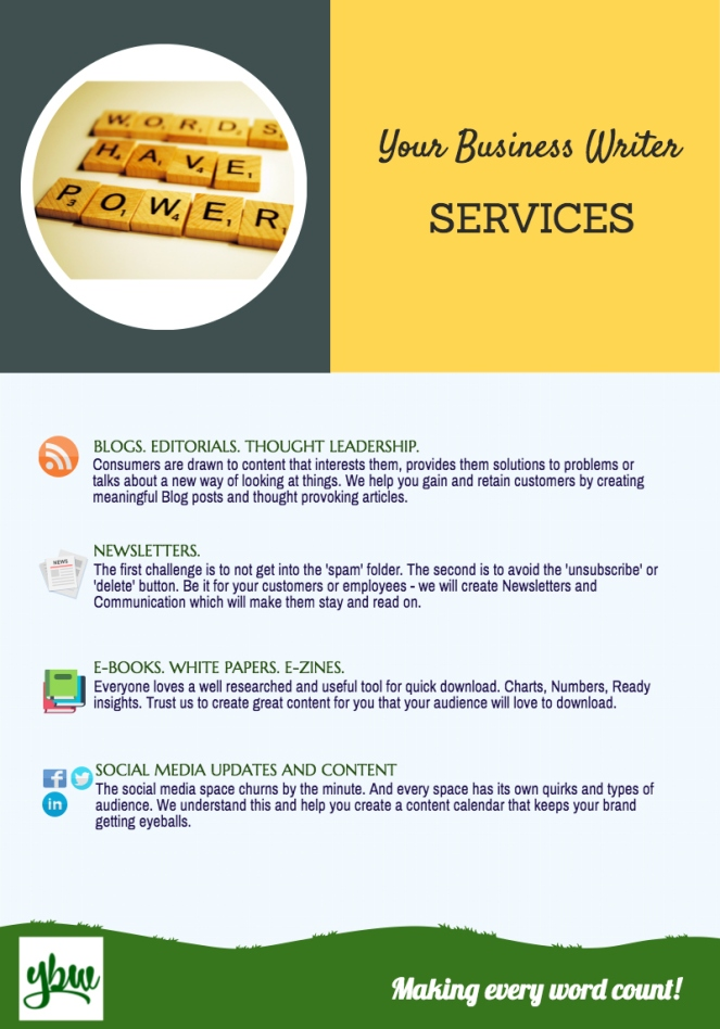 Your Business Writer